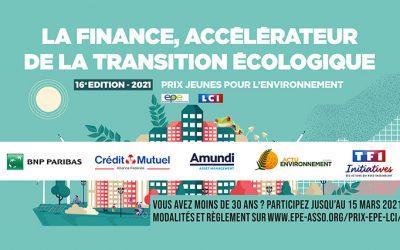 Prix EPE-LCI 2021 : La finance, accélérateur de la transition écologique