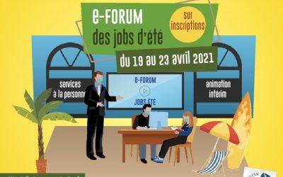 e-forum jobs d'été 2021