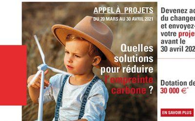 Appel à projets CECAZ : Réduire l'empreinte Carbone