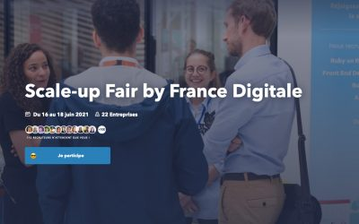 Recrutement «Scale-up Fair by France Digitale»